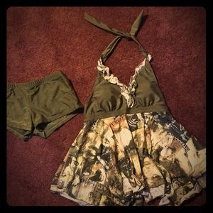Other - Lovely two piece swim suit , brand new